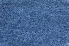 Закройте вверх по голубой текстуре демикотона Стоковые Изображения RF