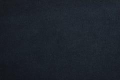 Закройте вверх по голубым скомканной цветом кожаной предпосылке текстуры Стоковая Фотография RF