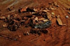 Закройте вверх по деревянным щепкам стоковые фото
