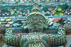Закройте вверх по детали виска Wat Arun Стоковая Фотография