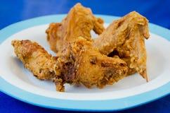 Закройте вверх по жареной курице Стоковое Фото