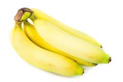 Закройте вверх по желтому банану стоковое изображение rf