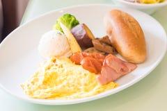 Закройте вверх по завтрак-обеду стоковая фотография