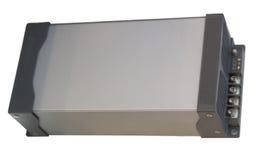 Закройте вверх по заряжателю батареи изолированному на белой предпосылке Стоковое Фото