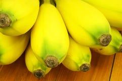 Закройте вверх по зрелому банану Стоковая Фотография