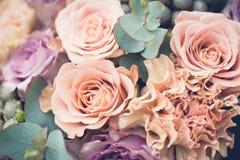 Закройте вверх по изображению букета цветка, Стоковые Изображения