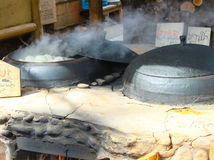 Закройте вверх по испаренному магазину плюшки вещества в острове nami Стоковые Фотографии RF