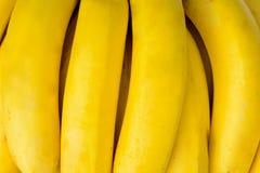 закройте вверх по картине желтого цвета банана Стоковое Изображение