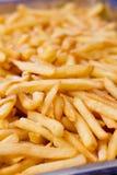 Закройте вверх по картошке зажаренной французом Стоковые Фотографии RF
