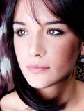 Закройте вверх по красивейшей молодой чувственный женщине Стоковые Фотографии RF