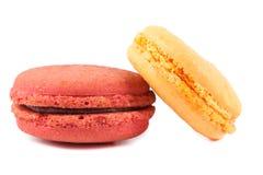 Закройте вверх по красочному macaron стоковые фото