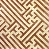 Закройте вверх по линии предпосылке текстуры ковра коричневого цвета Стоковое Изображение RF