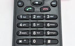 Закройте вверх по мобильному телефону дна кнопочной панели стоковая фотография rf