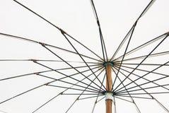 Закройте вверх по нижнему взгляду зонтика Стоковая Фотография RF