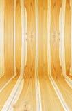 Закройте вверх по новой текстуре планки древесины сосны Стоковое Изображение