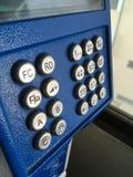 Закройте вверх по общественному телефону в больнице на Chachoengsao Таиланде Стоковые Изображения RF