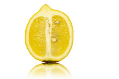 Закройте вверх половины лимона Стоковые Фото
