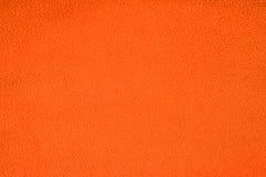 Закройте вверх по оранжевой текстуре ватки Справочная информация Стоковое Фото