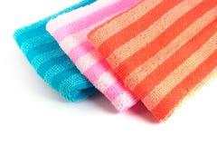Закройте вверх по полотенцу чистки Стоковое фото RF