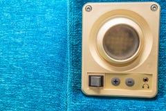 Закройте вверх по прибору установленному в месте поезда Стоковая Фотография