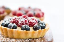 Закройте вверх по профилю десерта Стоковые Изображения