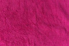 Закройте вверх по розовой текстуре ватки Справочная информация Стоковое Изображение RF