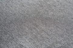 Закройте вверх по серой текстуре ткани Справочная информация Стоковое фото RF