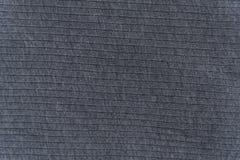 Закройте вверх по серой текстуре ткани Справочная информация Стоковые Фото