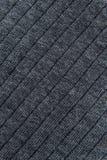 Закройте вверх по серой текстуре ткани Справочная информация Стоковое Изображение