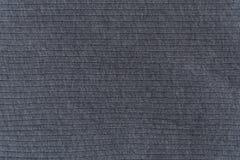 Закройте вверх по серой текстуре ткани Справочная информация Стоковая Фотография