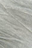 Закройте вверх по серой текстуре ткани Справочная информация Стоковое Изображение RF