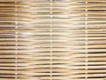 Закройте вверх по сплетенной бамбуковой картине, сплетя предпосылку картины стоковые изображения