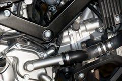 Закройте вверх по спорту мотоциклов двигателя (большой велосипед) Стоковые Изображения