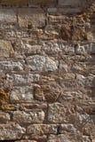Закройте вверх по старой каменной стене первоначально здания поселенца Стоковое Изображение
