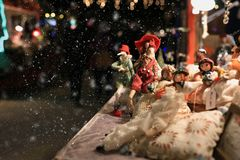 Закройте вверх по стойке рождества Стоковые Изображения
