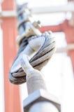 Закройте вверх по слингу для висячего моста Стоковые Фотографии RF