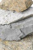 закройте вверх по текстуре картины горы камня утеса Стоковое фото RF