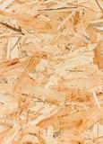 Закройте вверх по текстуре ориентированной доски стренги (OSB) Стоковые Изображения
