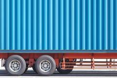 Закройте вверх по тележке грузового контейнера Стоковая Фотография RF