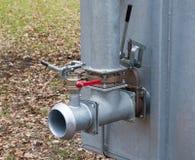 Закройте вверх по трубопроводу клапана воды Стоковое Фото