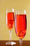 Шипучее напитк красное питье Стоковое Фото