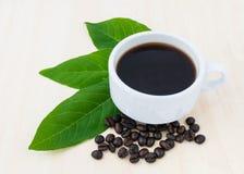 Закройте вверх по чашке кофе Стоковые Изображения RF