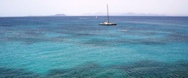 закройте вверх по яхте Стоковая Фотография RF