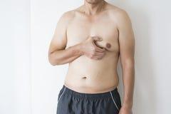 Закройте вверх по boob людей стоковые изображения rf