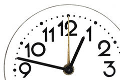 Закройте вверх простых часов Стоковая Фотография RF