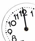 Закройте вверх простых часов Стоковые Фотографии RF