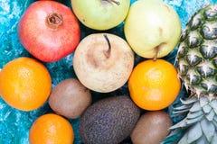 Закройте вверх различных плодоовощей Стоковое фото RF