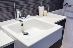Раковина в ванной комнате Стоковые Изображения RF