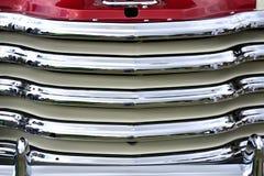 Закройте вверх решетки радиатора автомобиля Стоковые Изображения