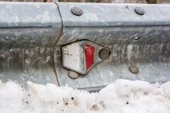 Закройте вверх рельса предохранителя металла Стоковая Фотография RF